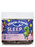 Vegan Sleep Gummies for Kids, Strawberry Lemon Flavor - 60 Gummies
