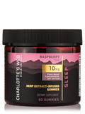 Hemp Extract-Infused Gummies: Sleep (Raspberry Flavor) - 60 Gummies