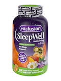Sleep Well Gummy, Natural White Tea & Peach Flavor - 60 Gummies