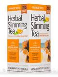 Herbal Slimming Tea, Orange Spice - 24 Tea Bags