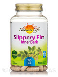 Slippery Elm Inner Bark 760 mg - 100 Vegetarian Capsules
