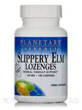Slippery Elm Lozenges Strawberry 150 mg 100 Count