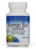 Slippery Elm Lozenges with Echinacea & Vitamin C Tangerine Flavor 200 mg - 100 Count