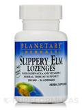Slippery Elm Lozenges with Echinacea & Vitamin C Tangerine Flavor 200 mg 24 Count