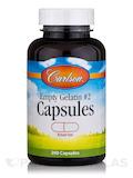 Empty Gelatin #2 Capsules (Small) - 200 Empty Capsules