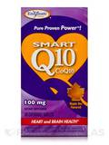 Smart Q10 CoQ10 100 mg Maple Nut Flavor 30 Chewable Tablets