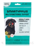 SmartyPaws® Five-In-One Wellness Adult Formula (Large Breed), Peanut Butter Flavor - 60 Soft Chews
