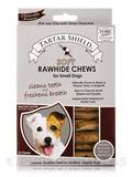 Soft Rawhide Chews for Small Dogs - 12 Chews