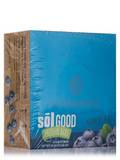 Sol Good Protein Bars, Blueberry Blast - Box of 12 Bars (2.19 oz each)
