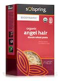 Solspring® Biodynamic® Organic Angel Hair Durum Wheat Pasta - 16 oz (454 Grams)