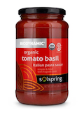 Solspring™ Biodynamic® Organic Tomato Basil Italian Pasta Sauce - 19.7 oz (560 Grams)