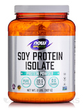 NOW® Sports - Soy Protein Isolate Powder, Unflavored - 2 lbs (907 Grams)