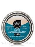 SPF 50+ Tinted Mineral Sunscreen Butter Tin - 1 oz (28 Grams)