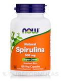 Spirulina 500 mg 120 Vegetarian Capsules