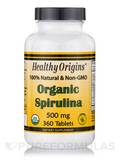 Spirulina 500 mg (Organic) - 360 Tablets