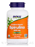 Spirulina (Organic) Double Strength 1000 mg 120 Tablets