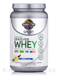 Sport Certified Grass Fed Whey, Vanilla - 23 oz (1 lb 7 oz / 652 Grams)