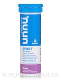 Sport - Effervescent Electrolyte Supplement, Grape Flavor - 1 Tube of 10 Tablets
