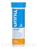 Sport - Effervescent Electrolyte Supplement, Orange Flavor - 1 Tube of 10 Tablets