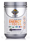 Sport Organic Plant-Based Energy + Focus, Blackberry - 15.3 oz (432 Grams)