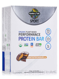 Sport Organic Plant-Based Performance Protein Bar, Peanut Butter Chocolate - Box of 12 Bars (2.7 oz