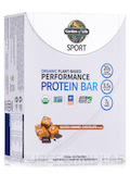Sport Organic Plant-Based Performance Protein Bar, Sea Salt Caramel - Box of 12 Bars (2.5 oz / 70 Gr