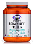NOW® Sports - Sprouted Brown Rice Protein -Unflavored - 2 lbs (907 Grams)
