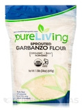 Sprouted Garbanzo Flour - 24 oz (680 Grams)