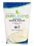 Sprouted Lentil Flour - 24 oz (680 Grams)