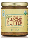 Sprouted Organic Raw Almond Butter, Salted - 8 oz (228 Grams)
