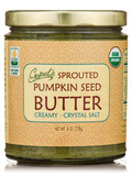 Sprouted Organic Raw Pumpkin Seed Butter, Salted - 8 oz (228 Grams)