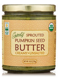 Sprouted Organic Raw Pumpkin Seed Butter, Unsalted - 8 oz (228 Grams)