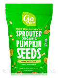 Organic Sprouted Pumpkin Seeds with Sea Salt - 16 oz (454 Grams)