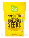 Sprouted Organic Sunflower Seeds with Sea Salt - 16 oz (454 Grams)