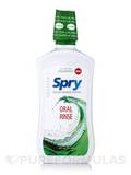 Spry Oral Rinse Spearmint 16 oz