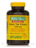 Standardized Green Tea Extract 500 mg - 120 Capsules