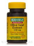 Standardized Olive Leaf Extract 150 mg 60 Capsules