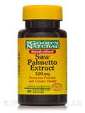 Standardized Saw Palmetto Extract 320 mg 30 Softgels