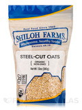 Steel-Cut Oats, Organic - 12 oz (340 Grams)