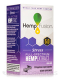 Stress Hemp Extract - 30 Vegetarian Liquid Capsules