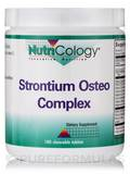 Strontium Osteo Chewable - 180 Chewable Tablets