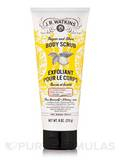 Sugar and Shea Body Scrub, Lemon Cream - 8 oz (226 Grams)