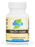 Sun-D3 10,000 IU - 90 Vegetarian Capsules