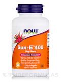 Sun-E 400 IU Vitamin E 120 Softgels