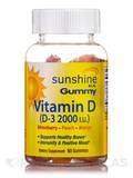Sunshine In A Gummy Vitamin D-3 2000 IU 60 Count