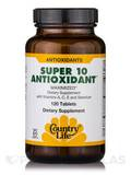 Super 10 Antioxidant - 120 Tablets