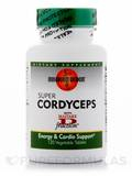 Super Cordyceps with Maitake D-fraction 120 Vegetable Tablets