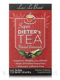 Super Dieter's Tea All Natural Botanicals 15 Count Box