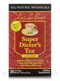 Super Dieter's Tea All Natural Botanicals 30 Count Box