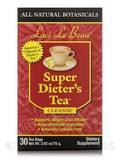 Super Dieter's Tea All Natural Botanicals 30 Count Box